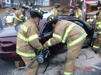 Car Accident Extrication - WFD